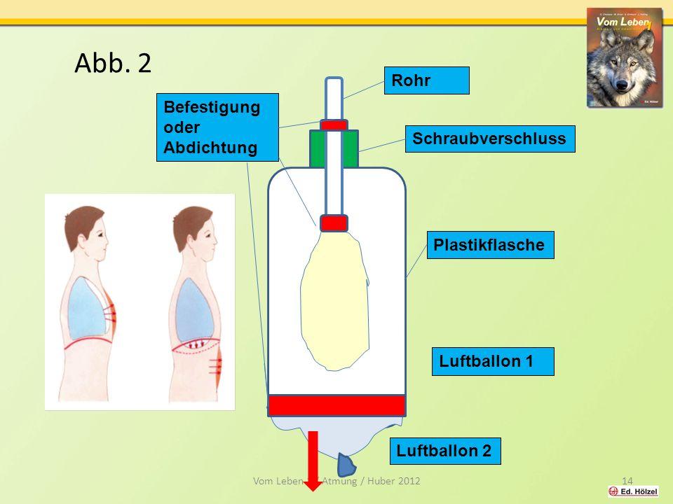 Vom Leben 1 / Atmung / Huber 2012