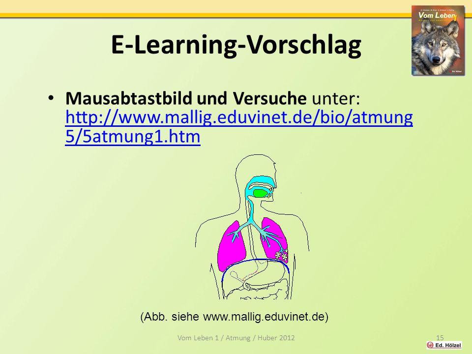 E-Learning-Vorschlag