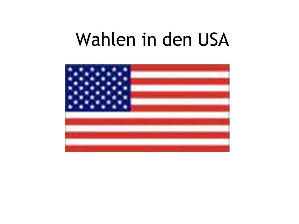 Wahlen in den USA