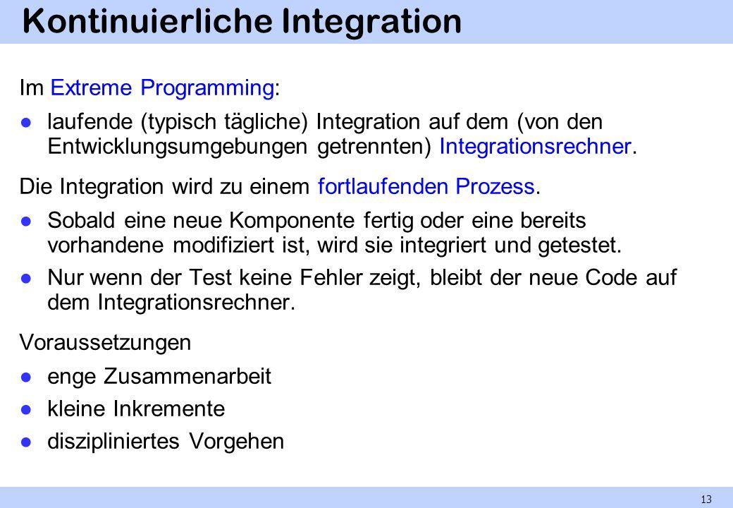 Kontinuierliche Integration