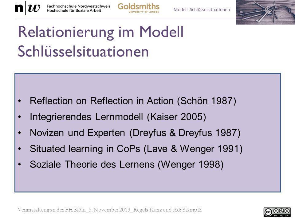 Relationierung im Modell Schlüsselsituationen