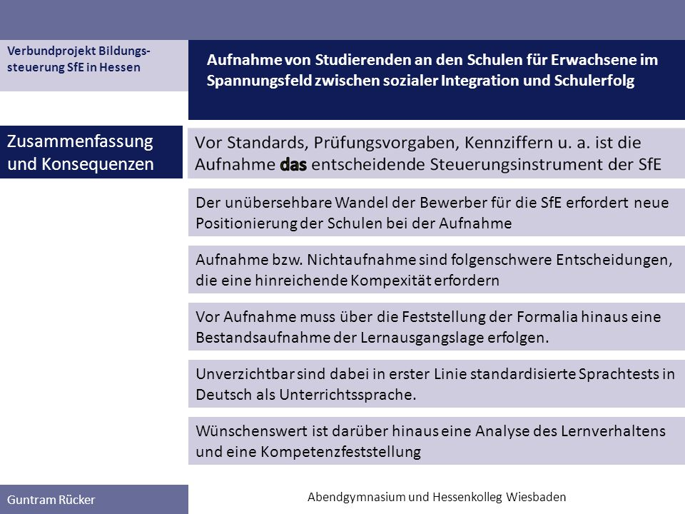 Abendgymnasium und Hessenkolleg Wiesbaden