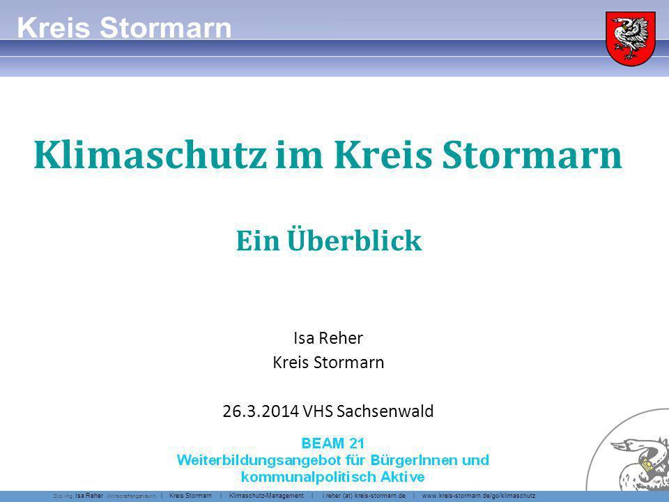 Klimaschutz-Management Kreis Stormarn