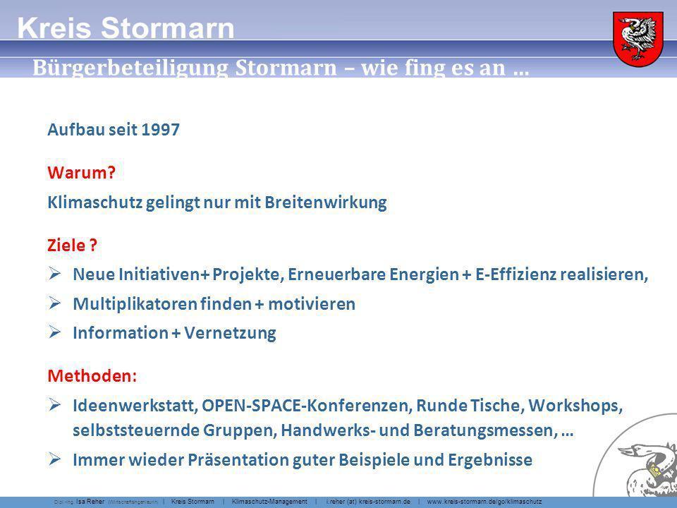 … Bürgerbeteiligung Stormarn