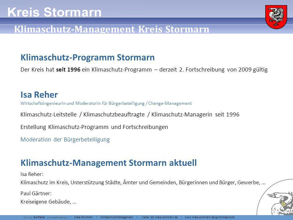 Klimaschutz Kreis Stormarn