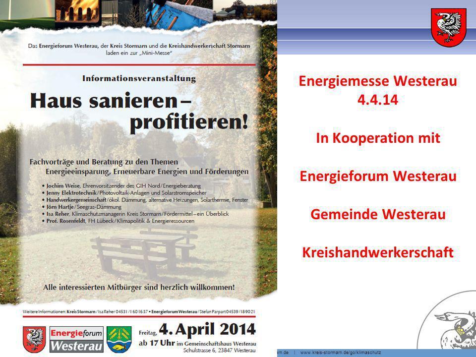 Was kann man selber tun Energie-Radtour Reinbek – Tag der erneuerbaren Energien 2013. EE-Anlagen, BHKWs + Häuser besichtigen.