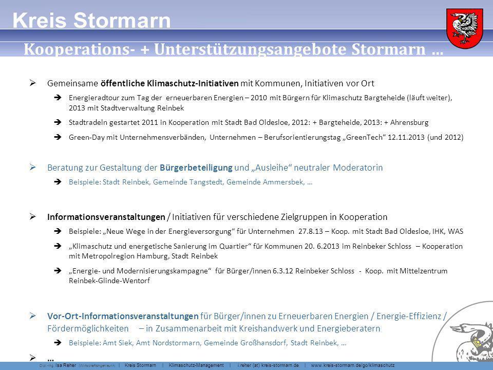 ... Kooperations- + Unterstützungsangebote Stormarn …