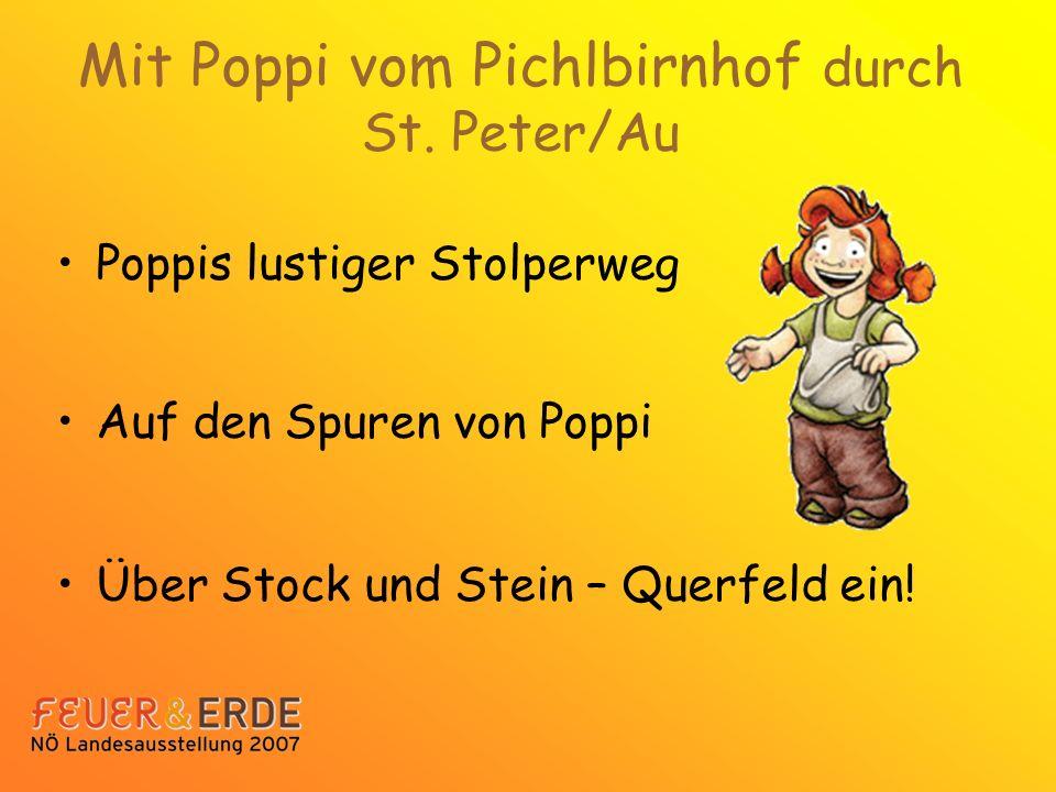 Mit Poppi vom Pichlbirnhof durch St. Peter/Au