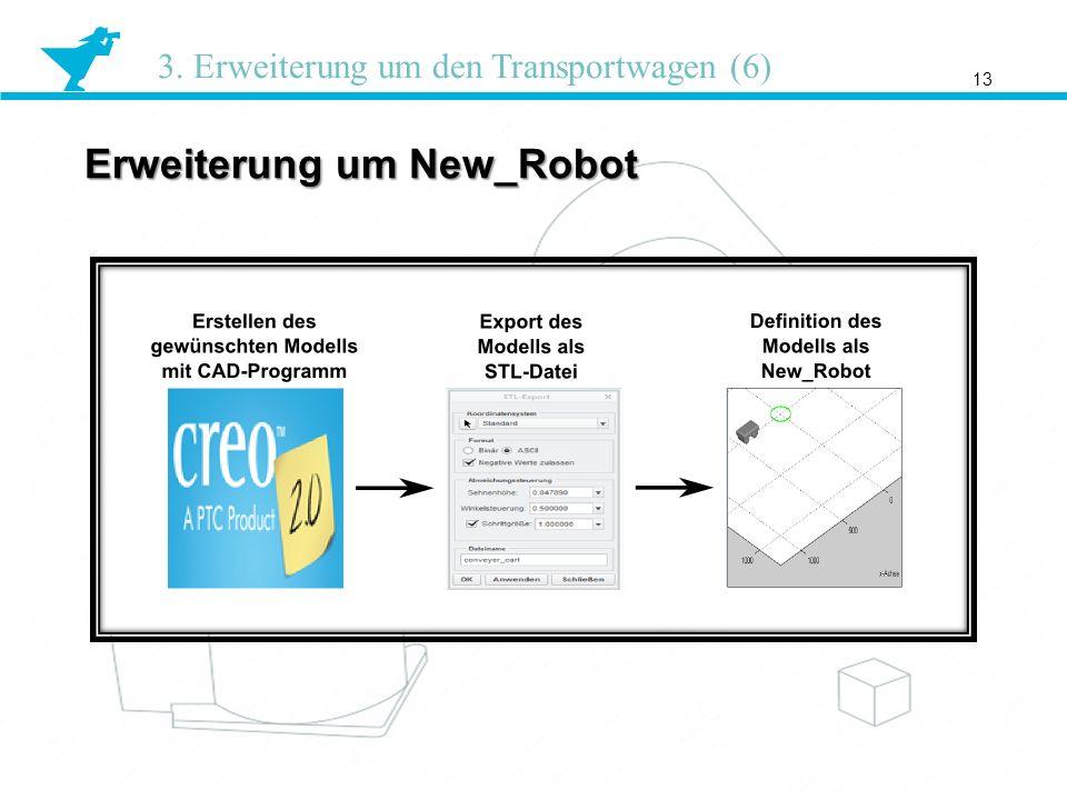 Erweiterung um New_Robot