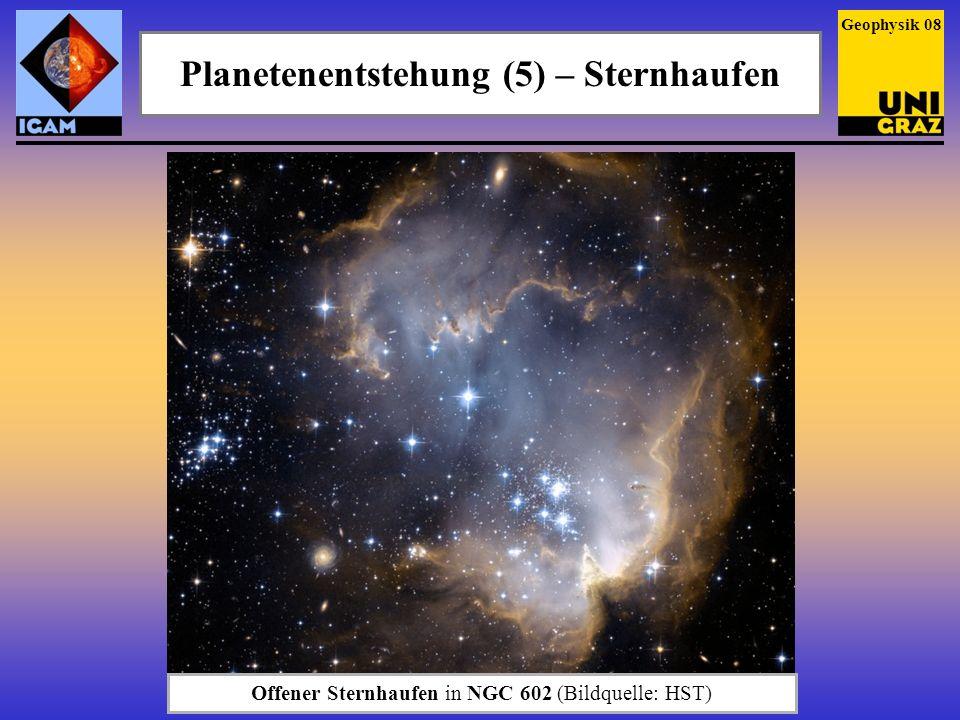 Planetenentstehung (5) – Sternhaufen