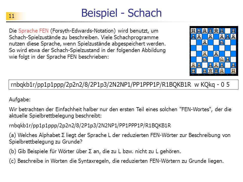 Beispiel - Schach