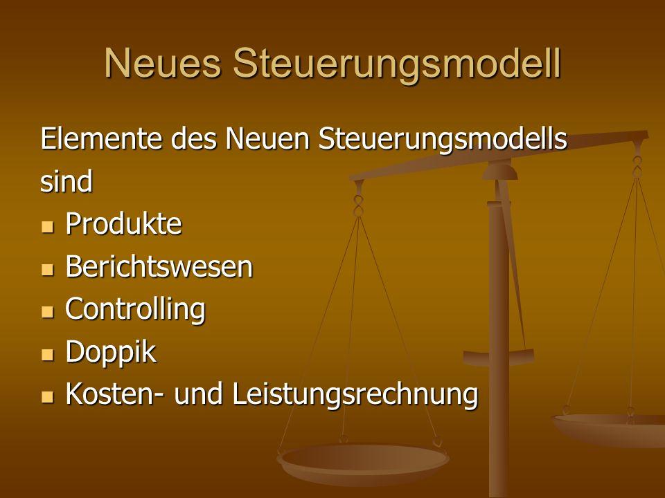 Neues Steuerungsmodell