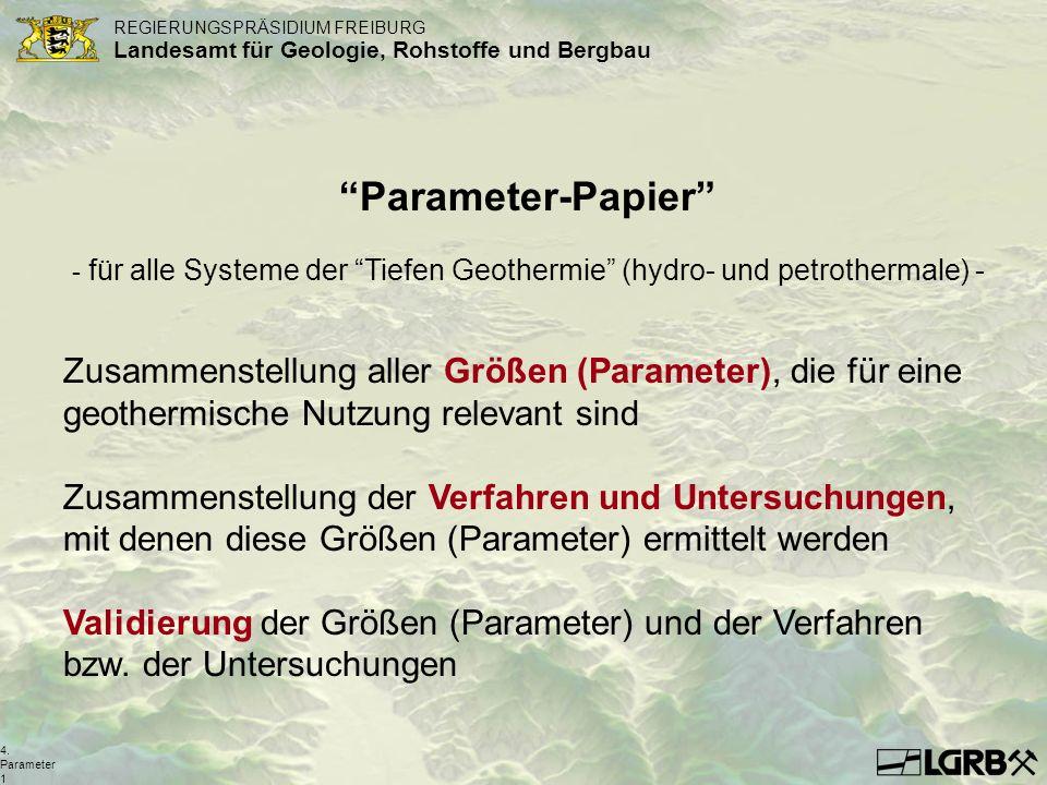 für alle Systeme der Tiefen Geothermie (hydro- und petrothermale) -