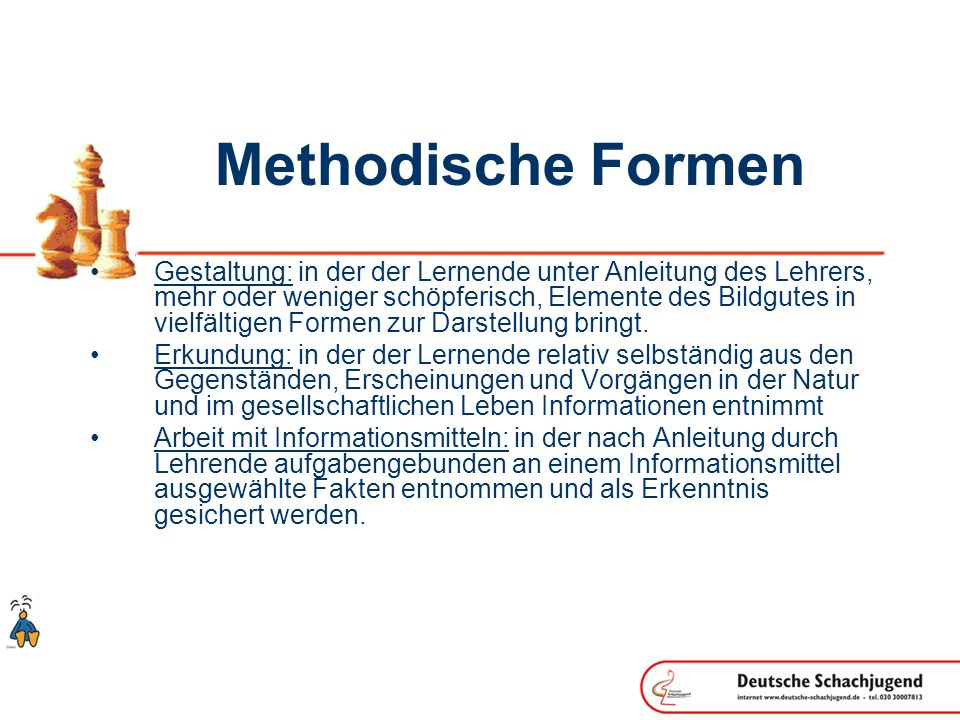 Methodische Formen
