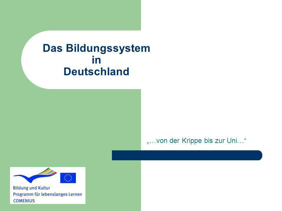 Das Bildungssystem in Deutschland