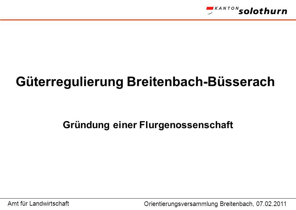 Güterregulierung Breitenbach-Büsserach