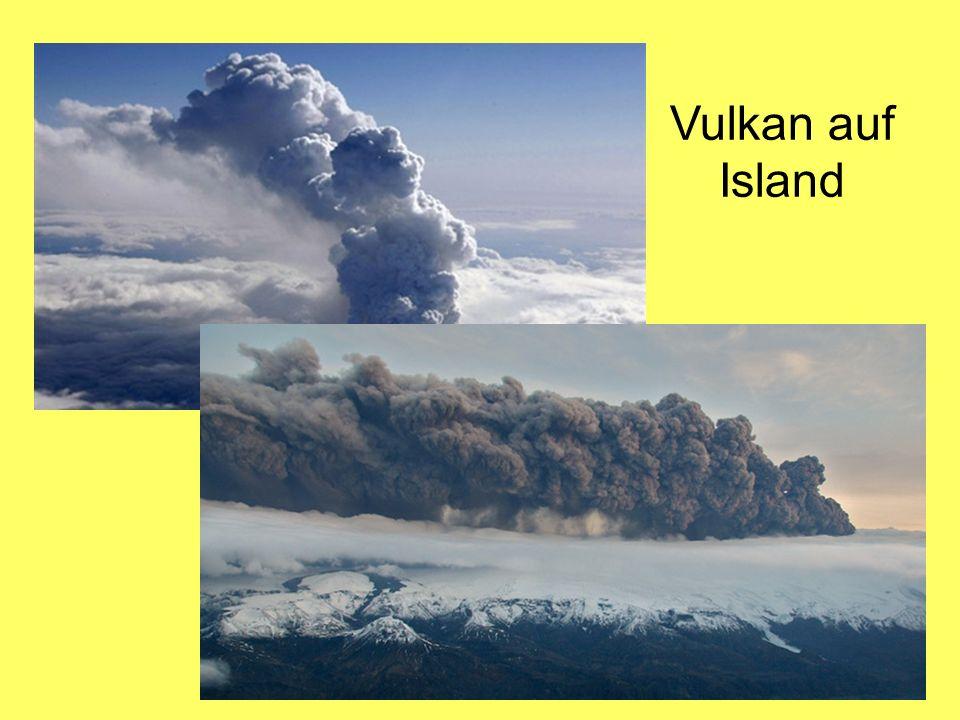 Vulkan auf Island