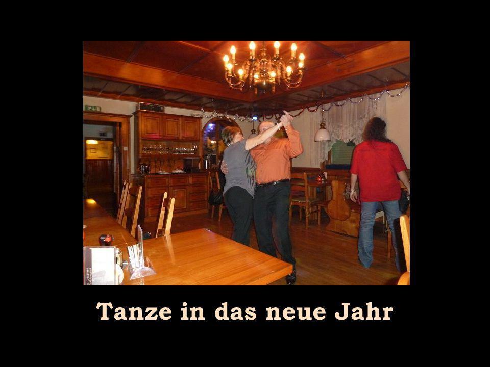 Tanze in das neue Jahr