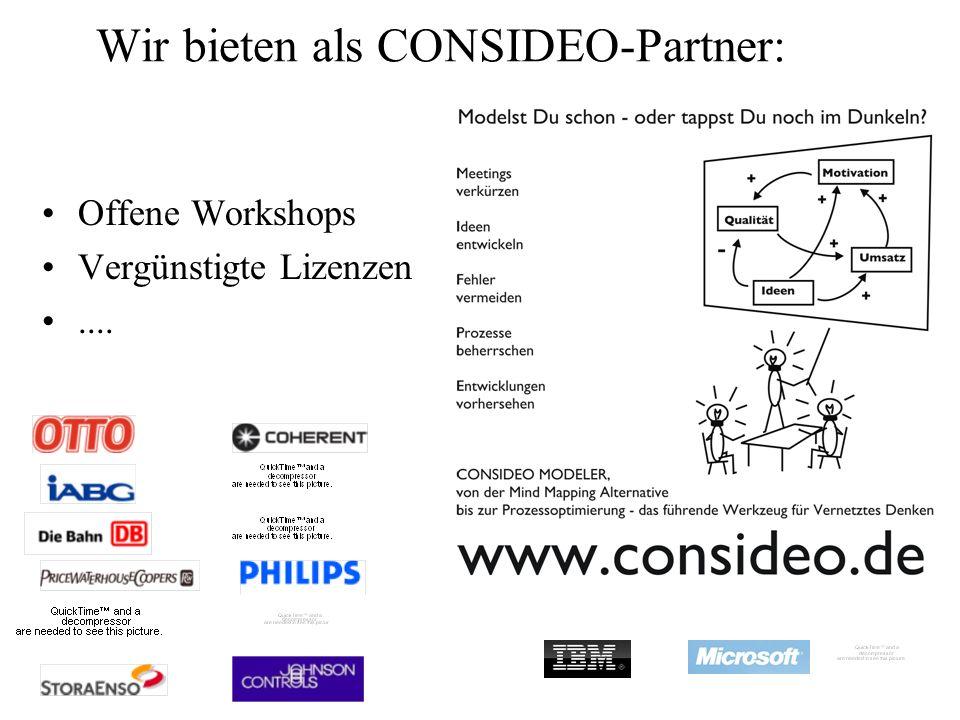 Wir bieten als CONSIDEO-Partner: