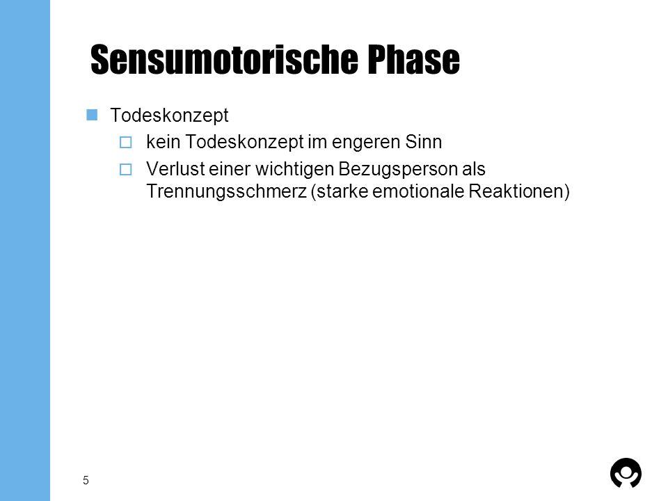 Sensumotorische Phase