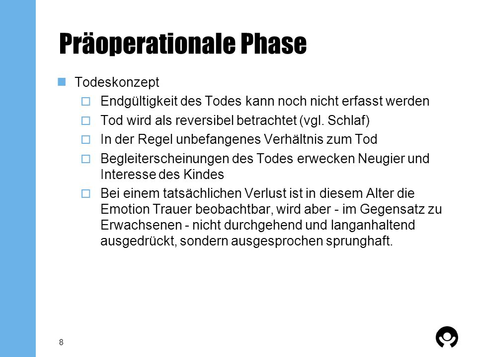 Präoperationale Phase