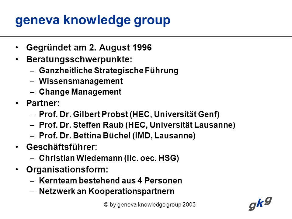 geneva knowledge group