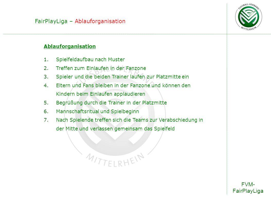FairPlayLiga – Ablauforganisation