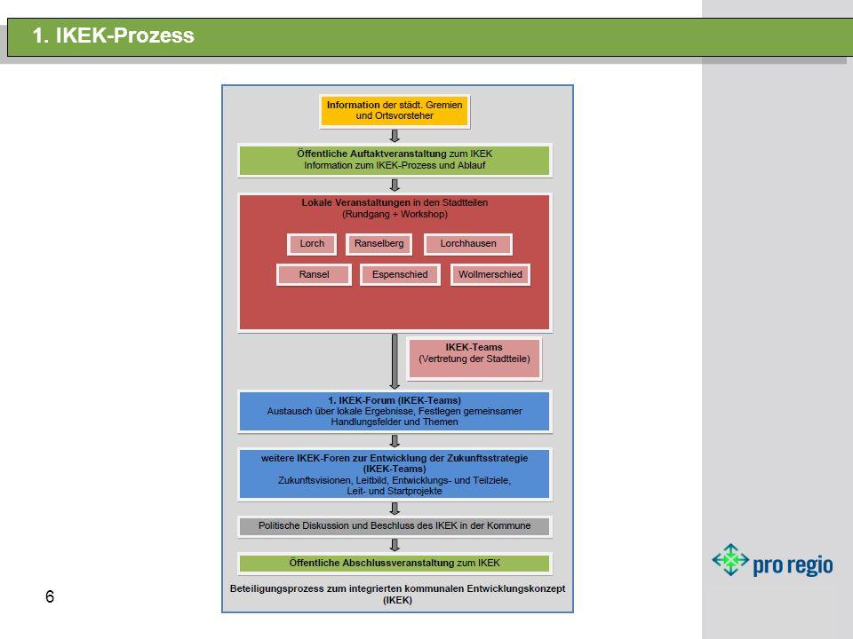 1. IKEK-Prozess (Prozess) HANDOUT austeilen 6 6