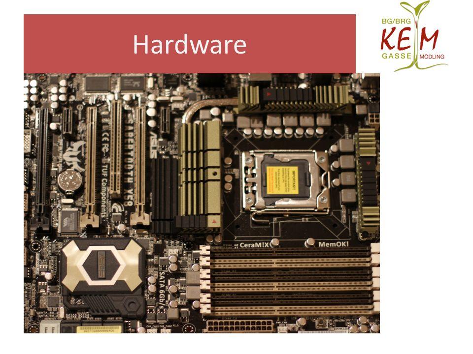 Pc hardware kennenlernen