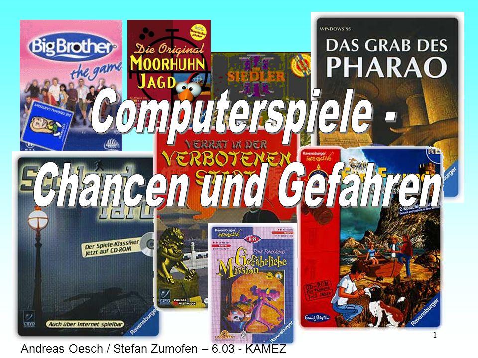 Computerspiele - Chancen und Gefahren