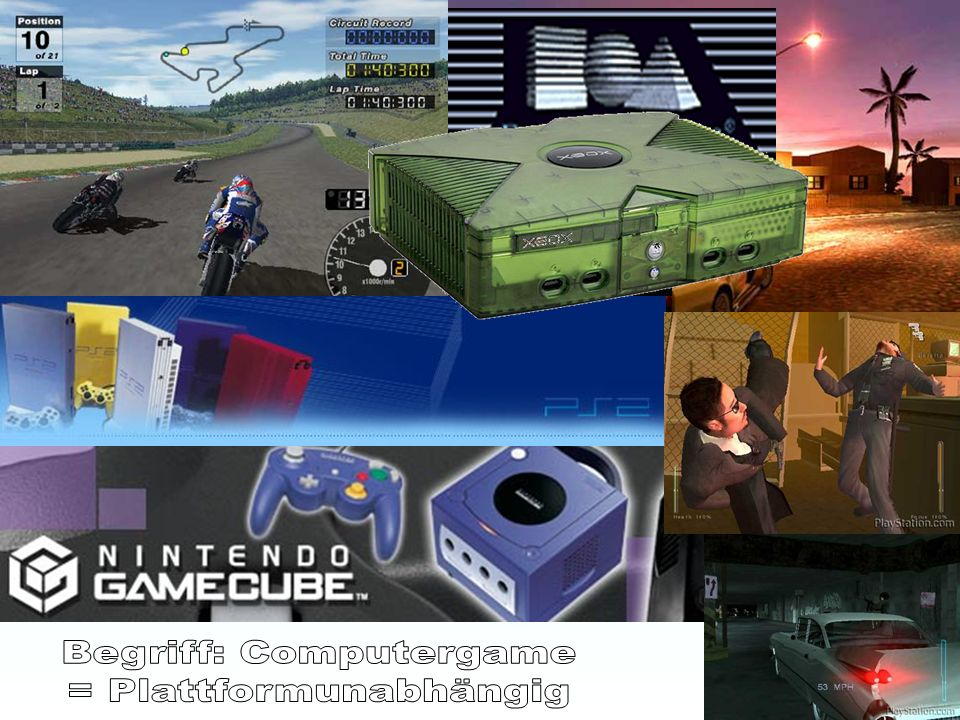 Begriff: Computergame = Plattformunabhängig