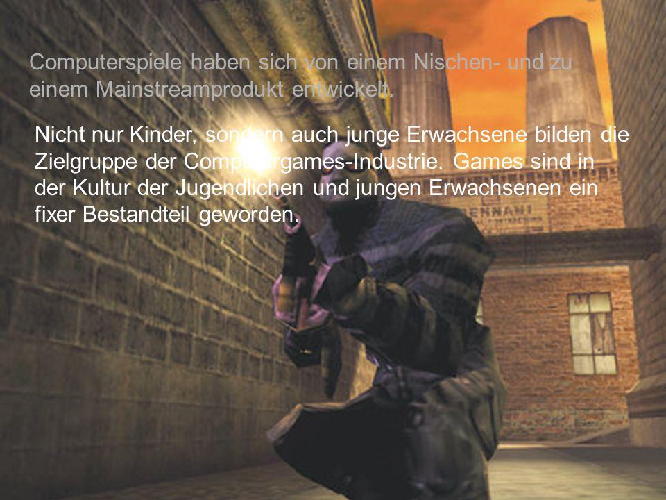 Computerspiele haben sich von einem Nischen- und zu einem Mainstreamprodukt entwickelt.