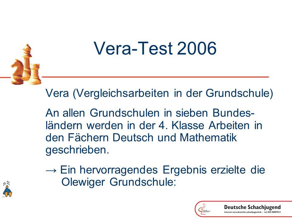 Vera-Test 2006 Vera (Vergleichsarbeiten in der Grundschule)