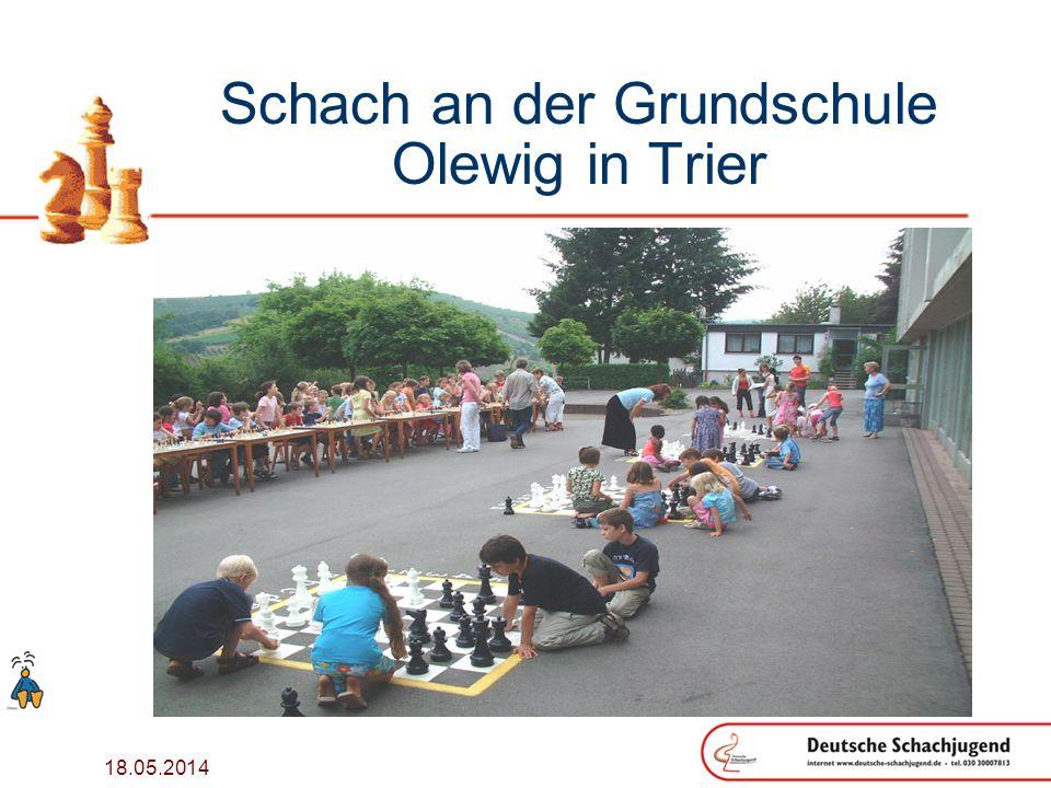 Schach an der Grundschule Olewig in Trier
