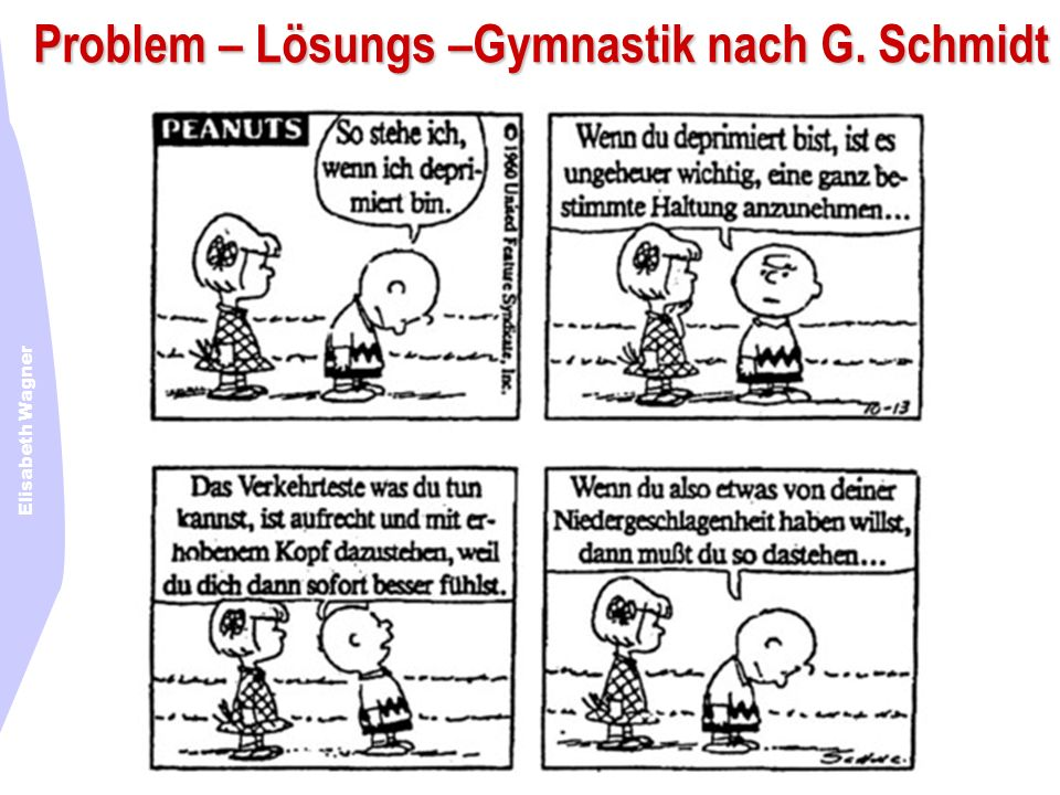 Problem – Lösungs –Gymnastik nach G. Schmidt
