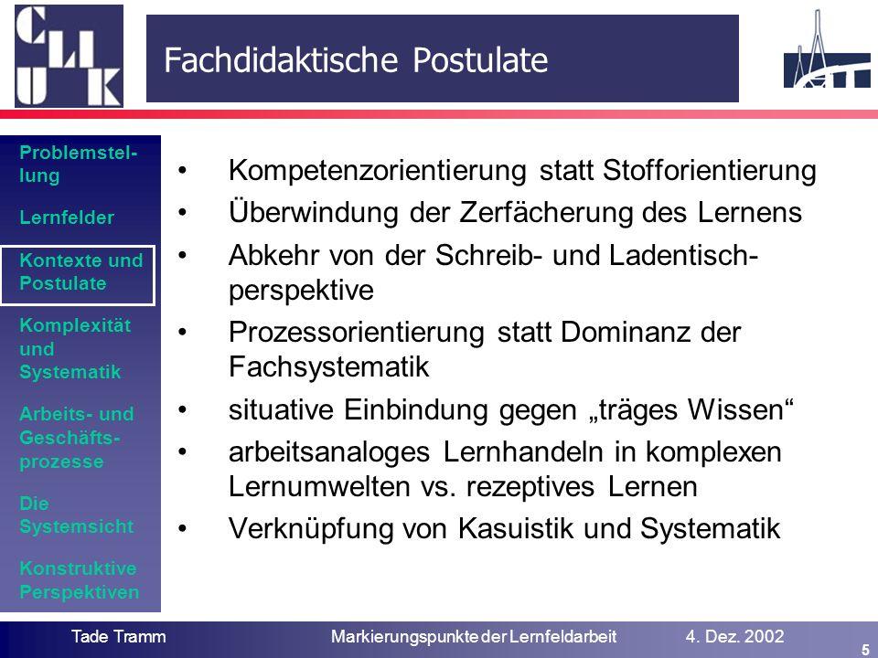 Systematik und Vernetzung