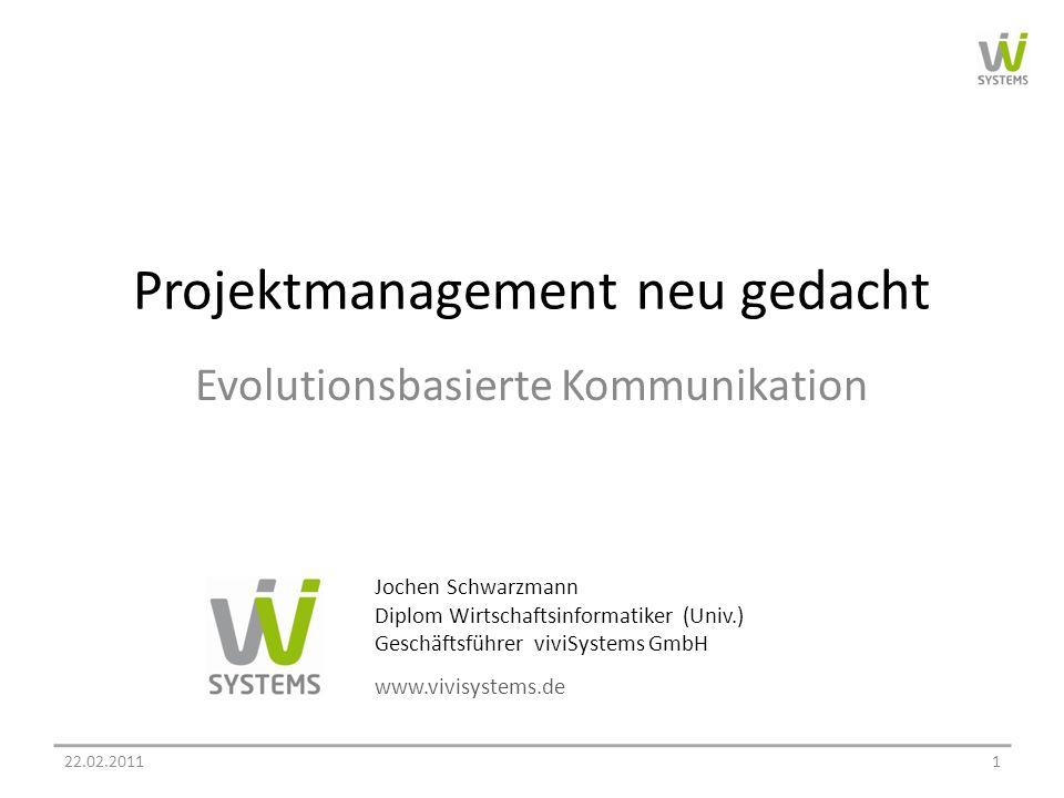 Projektmanagement neu gedacht