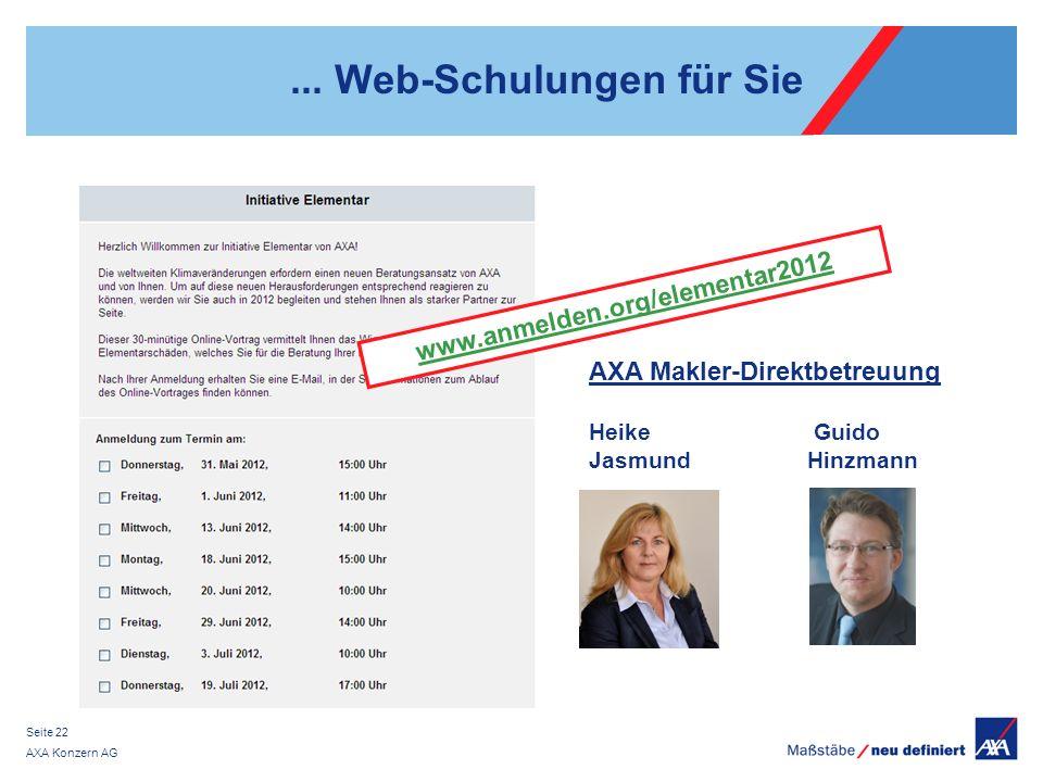 ... Web-Schulungen für Sie