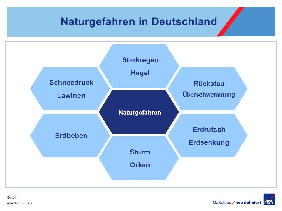 Naturgefahren in Deutschland