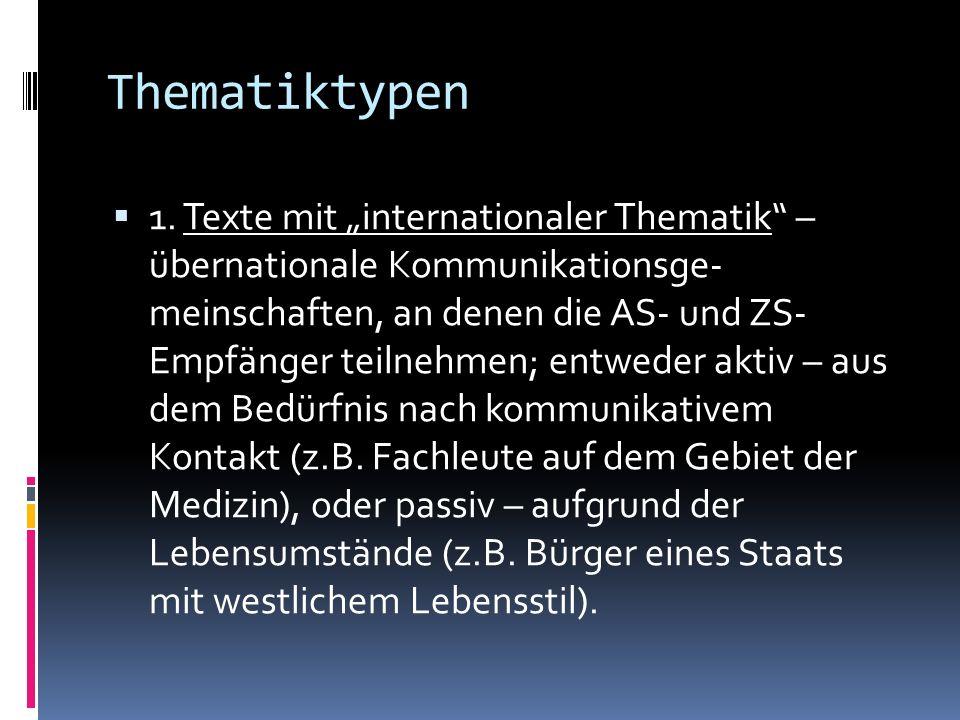 Thematiktypen