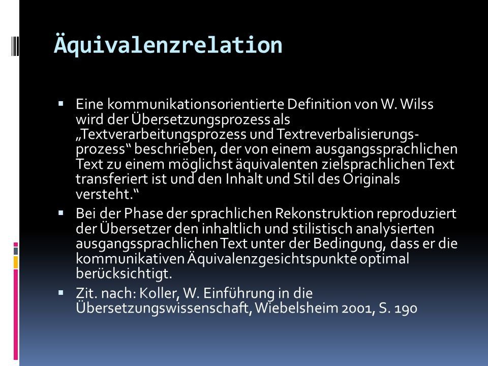 Äquivalenzrelation
