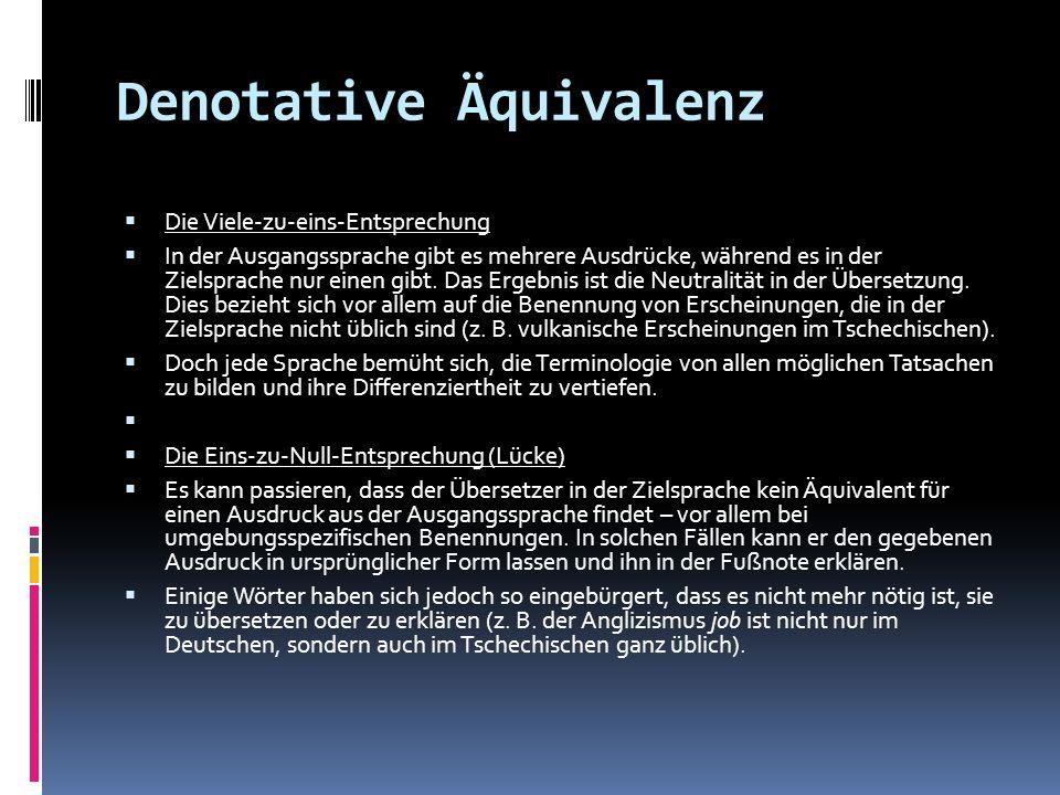 Denotative Äquivalenz