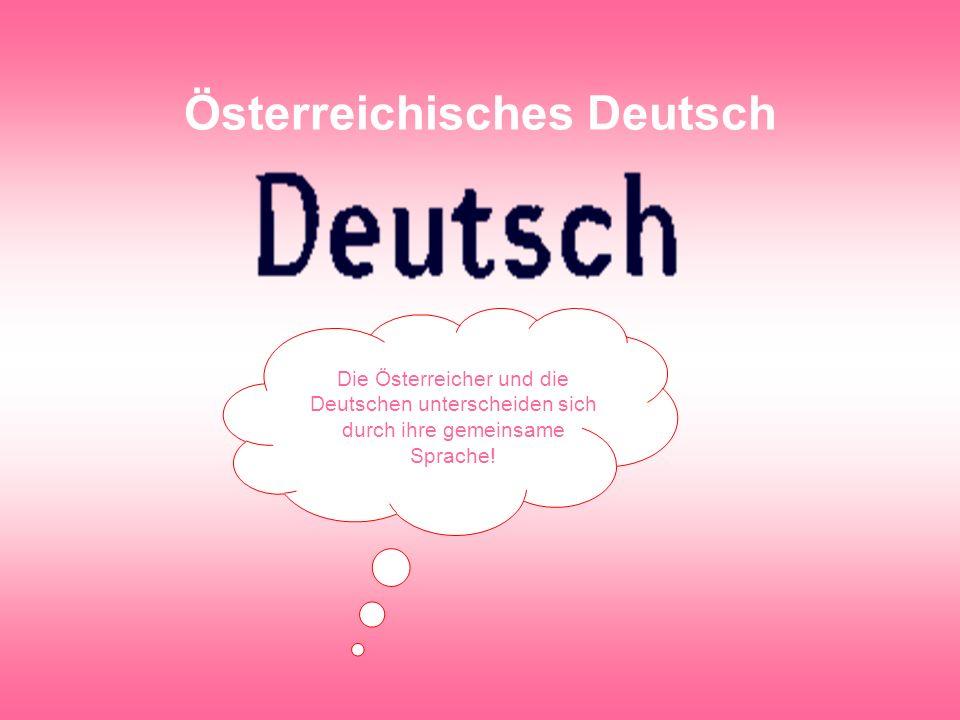 Österreichisches Deutsch