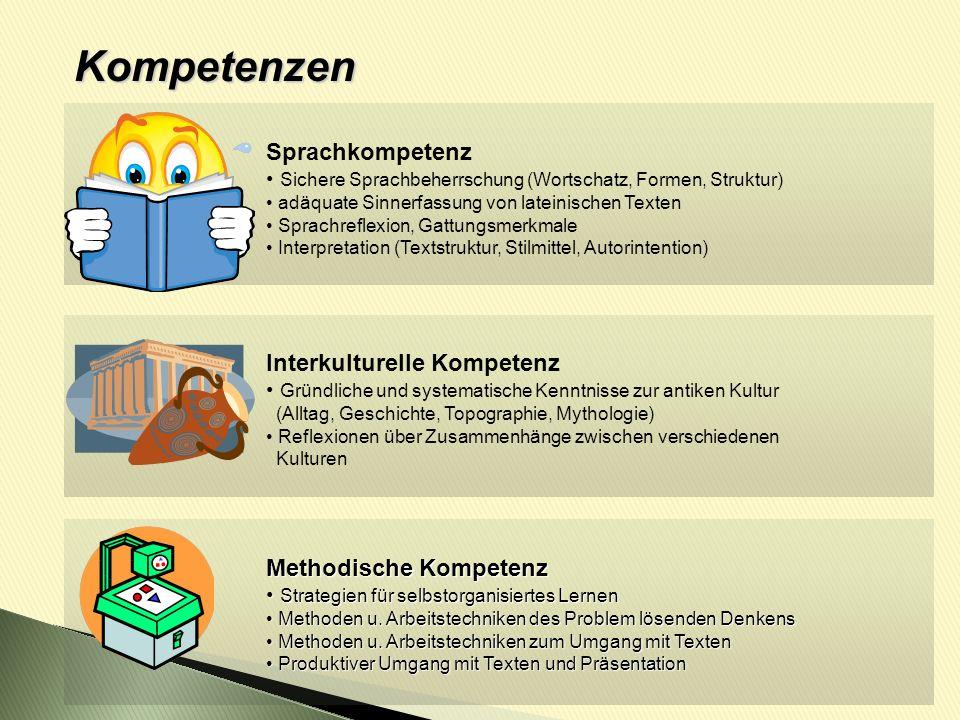 Kompetenzen Sprachkompetenz Interkulturelle Kompetenz