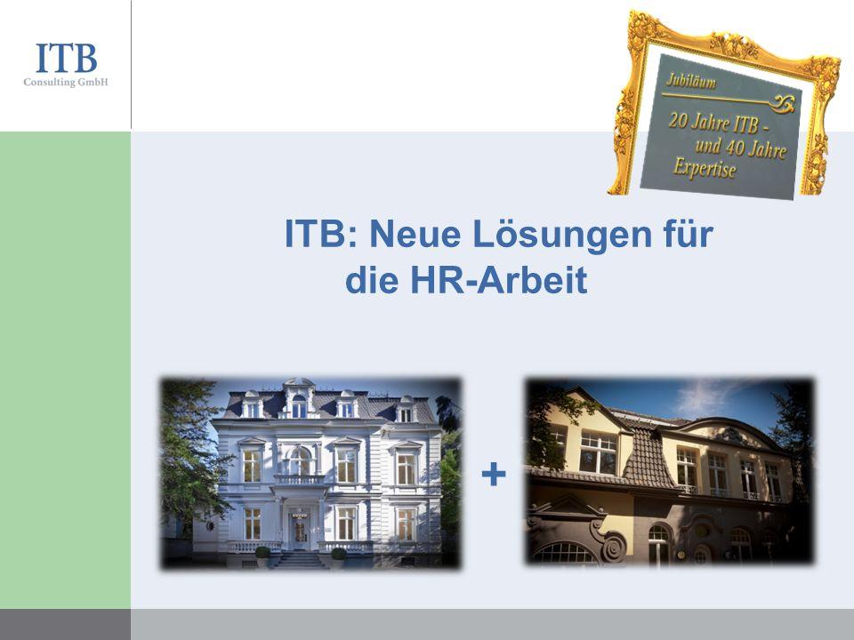 ITB: Neue Lösungen für die HR-Arbeit