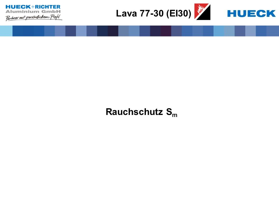 Lava 77-30 (EI30) Rauchschutz Sm