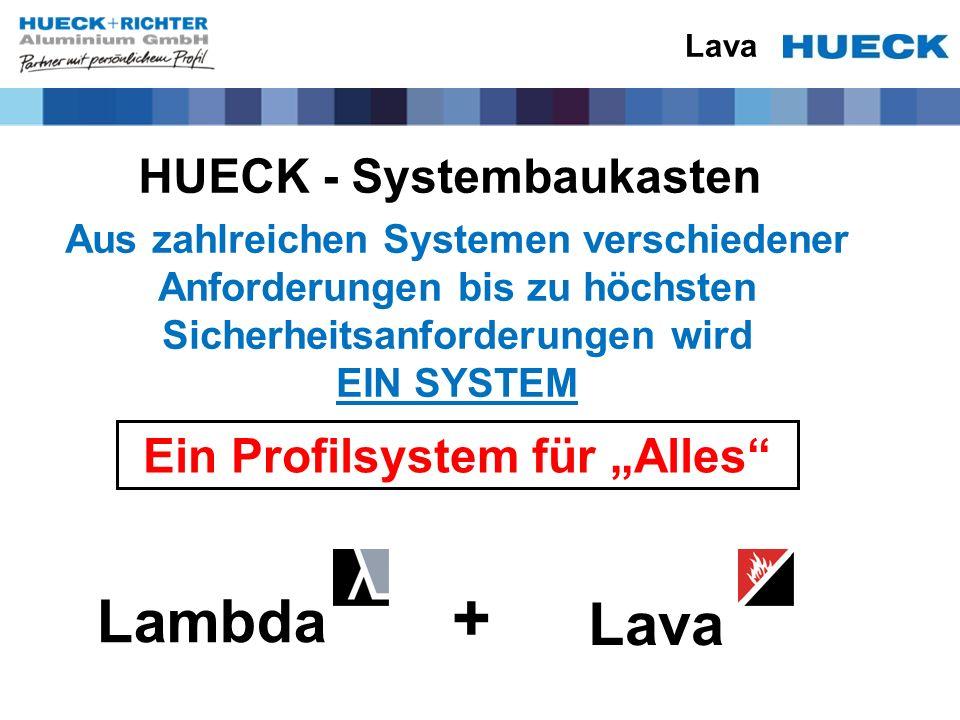 """HUECK - Systembaukasten Ein Profilsystem für """"Alles"""