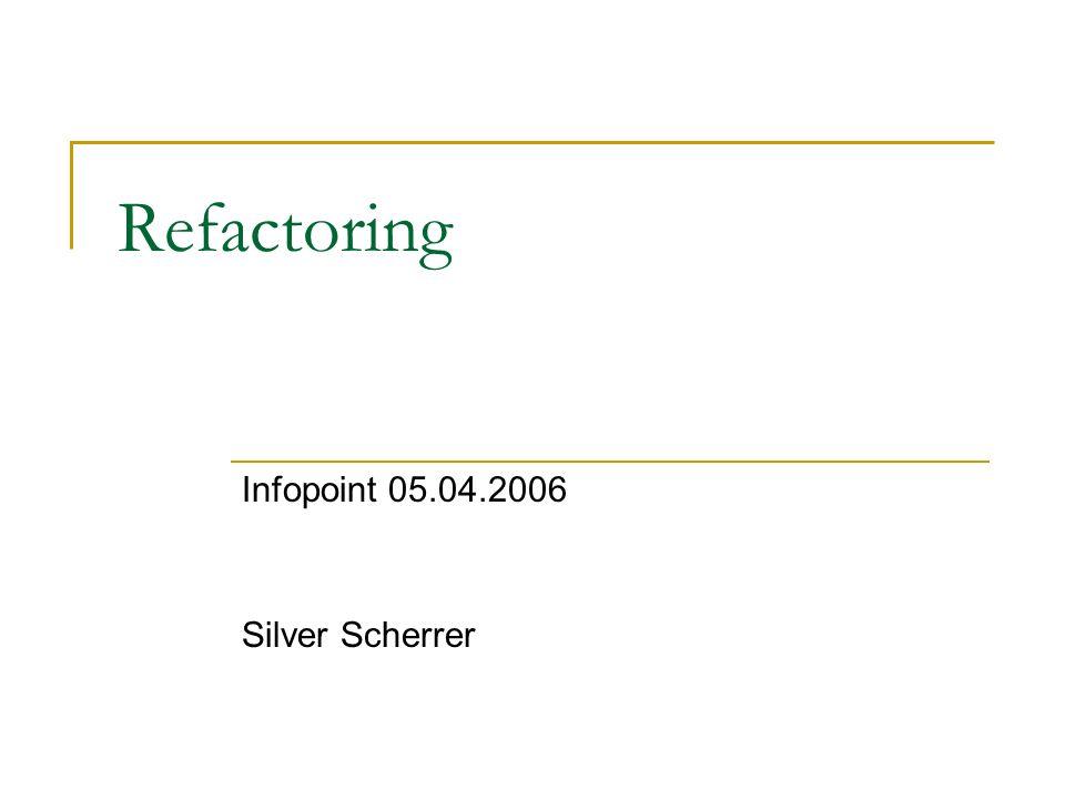 Infopoint 05.04.2006 Silver Scherrer