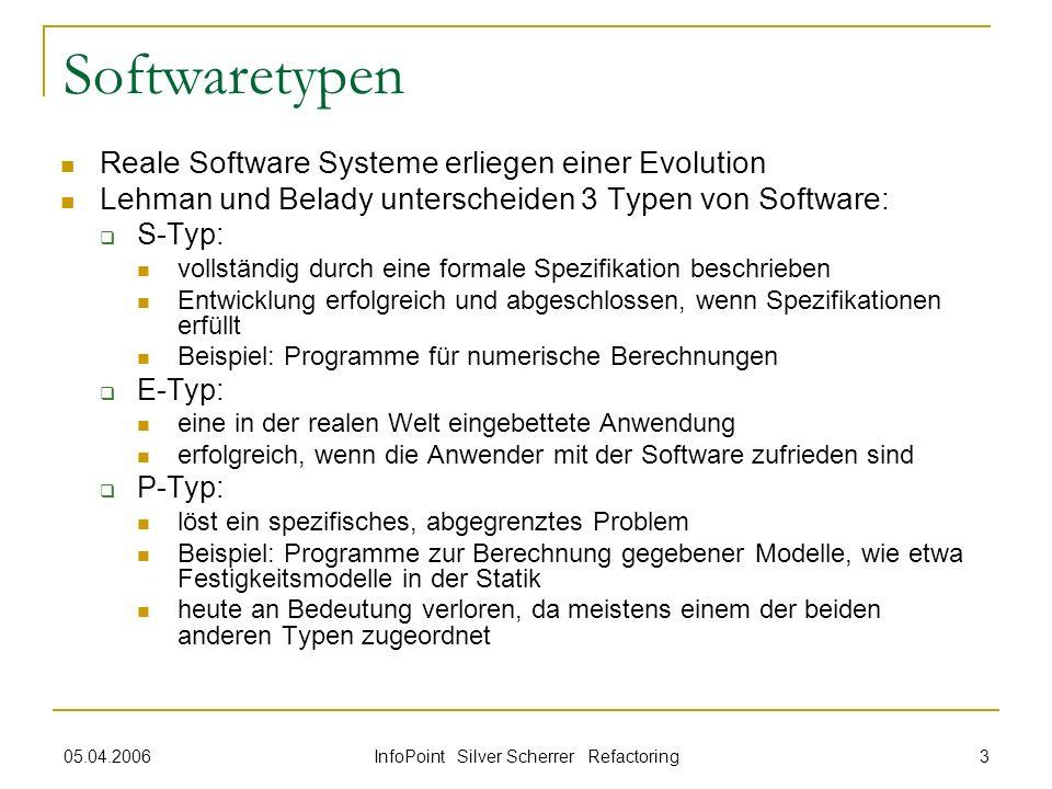 InfoPoint Silver Scherrer Refactoring