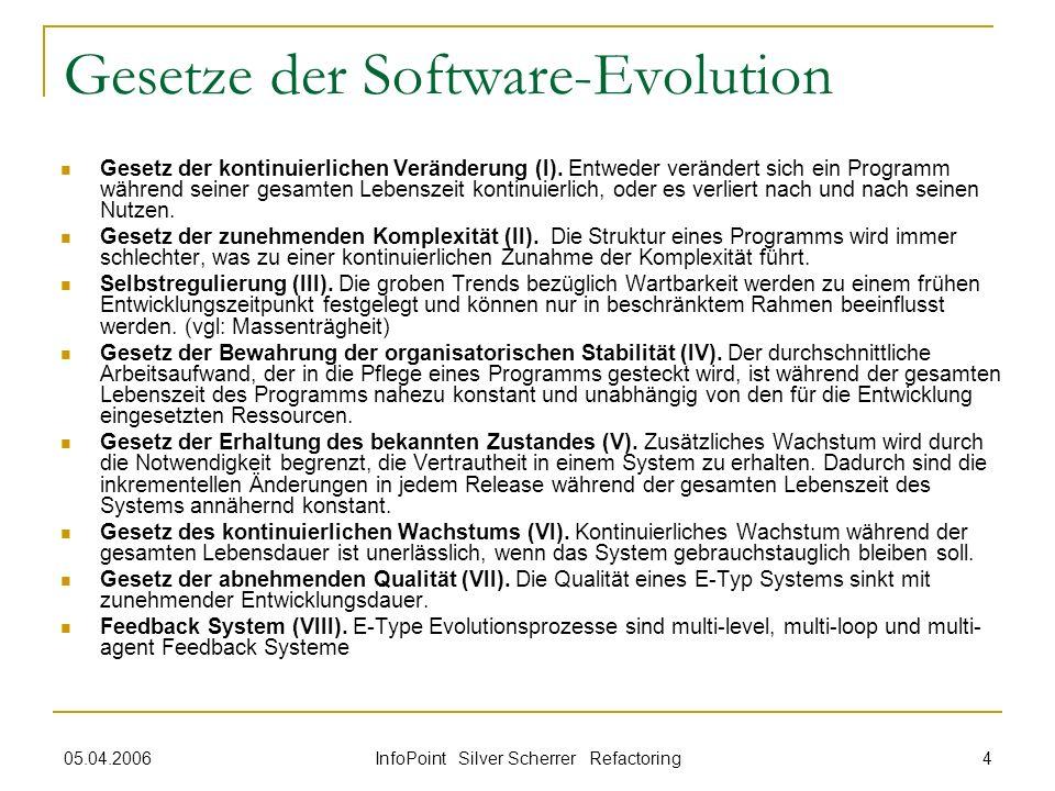 Gesetze der Software-Evolution